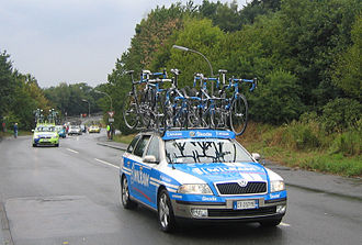 Team Milram - Team car Team Milram Deutschlandtour 2006