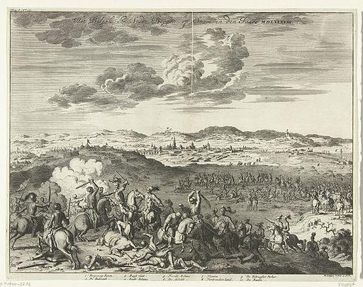 Beleg van Bergen op Zoom, 1588 van Parma