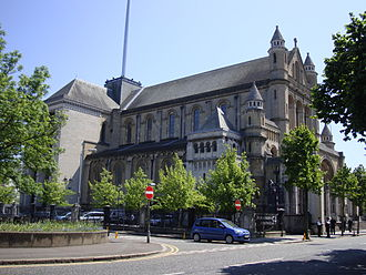 St Anne's Cathedral, Belfast - St Anne's Cathedral from the northwest
