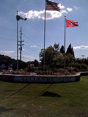 Bellevue, Tennessee - Image: Bellevue TN Don Johnson Memorial Garden