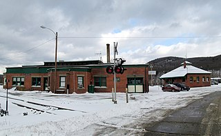 Bellows Falls station Railroad station in Bellows Falls, Vermont