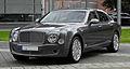 Bentley Mulsanne – Frontansicht (2), 10. August 2011, Düsseldorf.jpg