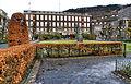 Bergen - Telegrafbygningen fra Byparken i desember.jpg