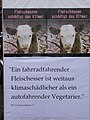 Berlin, Straße des 17. Juni, PETA-Plakat beim Umweltfestival 2009 - panoramio.jpg
