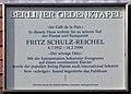 Berliner Gedenktafel Gotha-Allee 19 (Westend) Fritz Schulz-Reichel.jpg