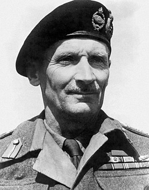 Médaille militaire - Field Marshal Montgomery, a recipient of the Médaille militaire