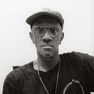 Bernie Worrell - Worrell backstage in Cologne/Germany 1998