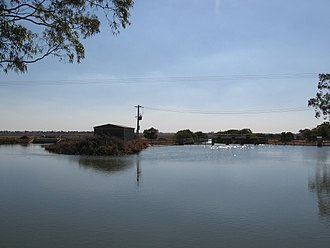 "The Drop Hydro - ""The Drop"" on the Mulwala canal"