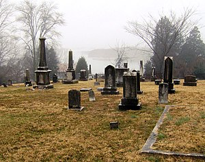 National Register of Historic Places listings in Roane County, Tennessee - Image: Bethel cemetery kingston tn 1