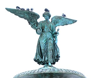 "Weeping Angel - Angel of the Waters, one of the real-life angel statues appearing in the episode ""The Angels Take Manhattan"""