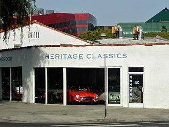 Car dealership - Dealer for vintage cars