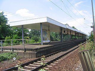 Hanau West station railway station in Hanau, Germany