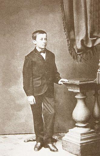 Vlaho Bukovac - The young Vlaho Bukovac.