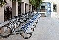 Bicycle sharing Loutraki, Greece.jpg