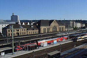 Bielefeld Hauptbahnhof - Bielefeld Hauptbahnhof, north-west view