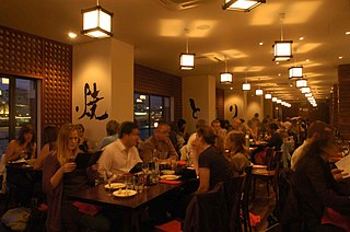 London-based Japanese restaurant