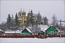 Biserica noua si cea veche din Boian,Cluj,Romania.jpg