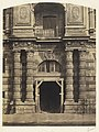 Bisson Frères, Entrance to the Imperial Library, the Louvre Palace, Paris, about 1858.jpg