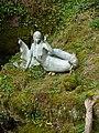Bizarre Fairy Mermaid Statue at Wookey Hole - panoramio.jpg