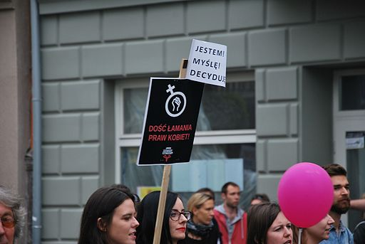 Black March in support of abortion rights, Łódź October 2nd 2016 41