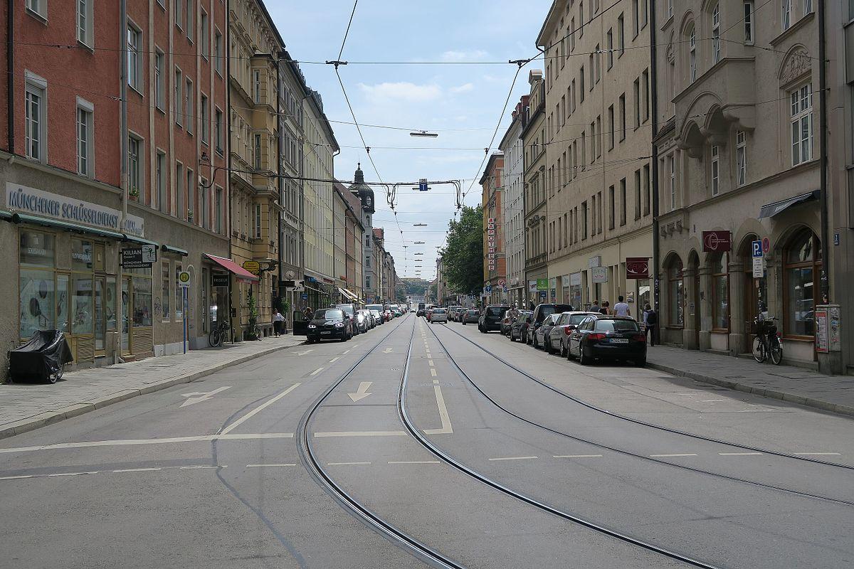 Tübinger Straße 5 München