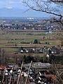 Blick vom Ölberg über Ehrenkirchen und Bad Krozingen zum Kernkraftwerk Fessenheim zu den Vogesen.jpg