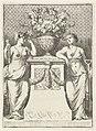 Bloemenvaas geflankeerd door twee allegorische figuren, RP-P-OB-46.732.jpg