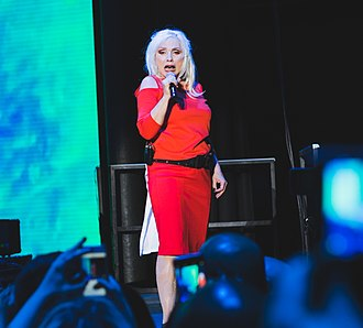 Debbie Harry - Harry performing with Blondie in 2017.