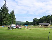 Cricket ground at Blubberhouses