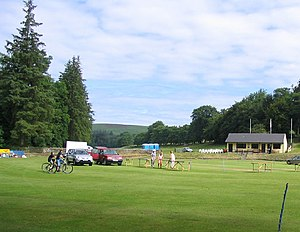Blubberhouses - Cricket ground at Blubberhouses