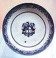 Blue and white export plate Jingdezhen Qing Qianlong 1736 1795.jpg