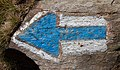 Blue arrow - Jeseniky, Czech Republic 13.jpg