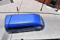 Blue minibus passing.jpg