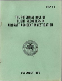 Bobbie R Allen - Potential Role of Flight Recorders - NTSB 1966.pdf