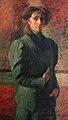 Boccioni - Ritratto di Ines olio su tela, Collezione Ingrao.jpg