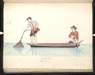 Ta-nga-thee. Fishermen