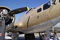 Boeing B-17G-85-DL Flying Fortress Nine-O-Nine RNose Names CFatKAM 09Feb2011 (14797312977).jpg