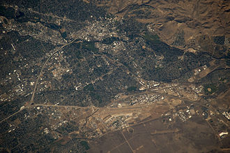 Boise, Idaho - Astronaut photography of Boise, taken from the International Space Station in 2009