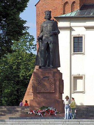 Gniezno - Statue of Bolesław I the Brave in Gniezno