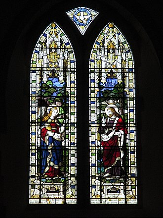 Burlison and Grylls - East window of St. Mary Magdalene's Church, Bolney, West Sussex