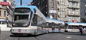 Istanbul Tram - Image: Bombardier Flexity Istanbul