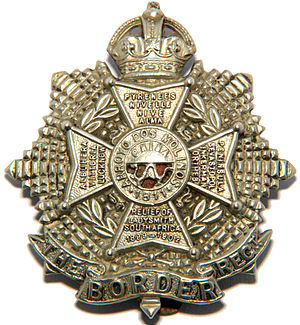 Border Regiment - Cap badge of the Border Regiment.