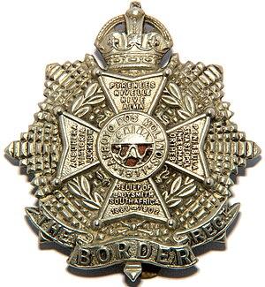 Border Regiment - Cap badge of the Border Regiment.