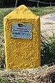 Borne 14 Indication Canalisation Gaz Chemin Romagne St Cyr Menthon 3.jpg