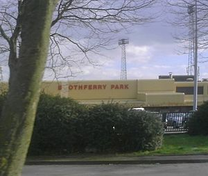 History of Hull City A.F.C. - Recent picture of Boothferry Park