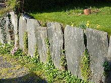 pierres pour muret de jardin