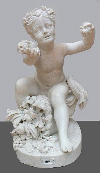 Edmé Bouchardon - Image: Bouchardon Genius des Überflusses