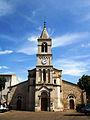 Bouillargues Façade de l'église.jpg