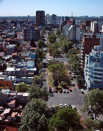 Saavedra, Buenos Aires - Image: Boulevard San Isidro