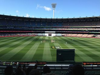 Boxing Day Test - The Melbourne Cricket Ground during the first day of the 2015 Boxing Day Test match